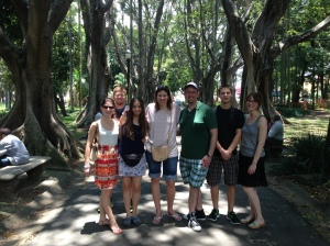 Friends and Arbor Canopy