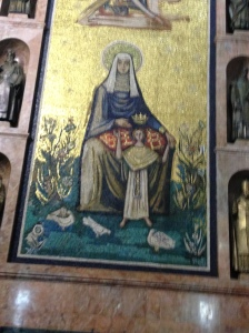 Mary in Mosaic