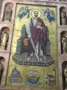 Saintly Mosaic