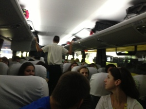 Inside the Coach to Rio