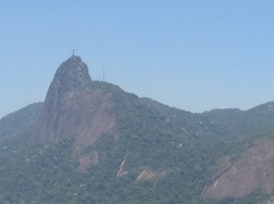 View of Cristo Redentor from Morro da Urca
