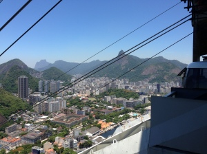 Cable Car Wires and View