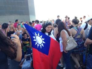 Draped in Their Flag Photo