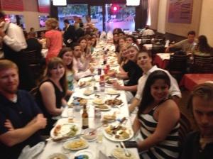 Farewell to Brazil Banquet